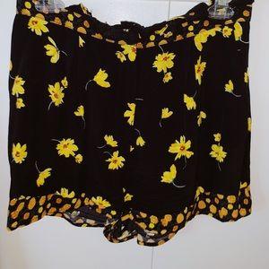 Topshop Floral Shorts